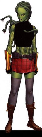 File:Delphyne Gorgon (Earth-616) from Official Handbook of the Marvel Universe A-Z Update Vol 1 2 0001.jpg