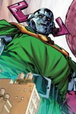 Doctor Doomactus (Warp World) (Earth-616) from Secret Warps Iron Hammer Annual Vol 1 1 001