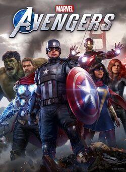 Marvel's Avengers (video game) box art 001