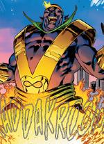 Mephicthzarrko-Neg (Warp World) (Earth-616) from Secret Warps Iron Hammer Annual Vol 1 1 001