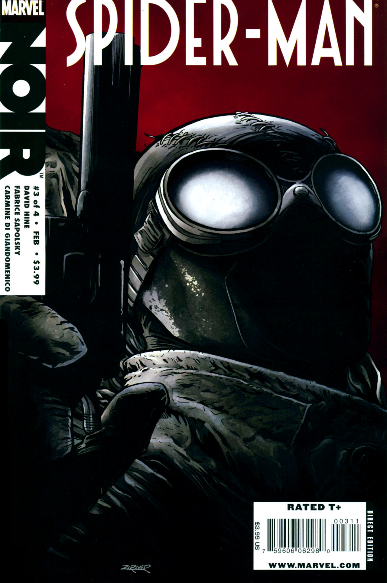 spider-man noir vol 1 3 | marvel database | fandom poweredwikia