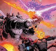 Thanos (Earth-TRN666) and Frank Castle (Earth-TRN666) from Thanos Vol 2 16 001