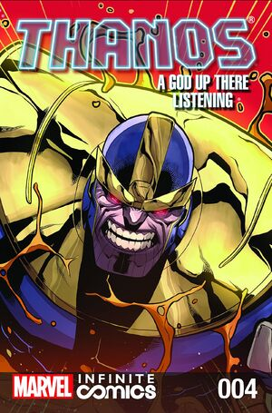 Thanos A God Up There Listening Infinite Comic Vol 1 4