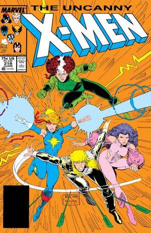 Uncanny X-Men Vol 1 218