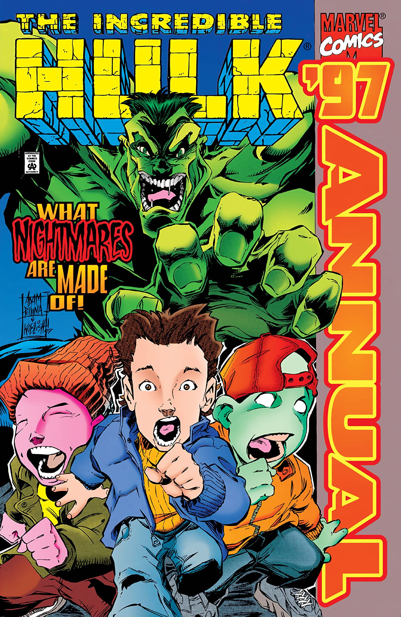 Incredible Hulk Annual Vol 1 '97
