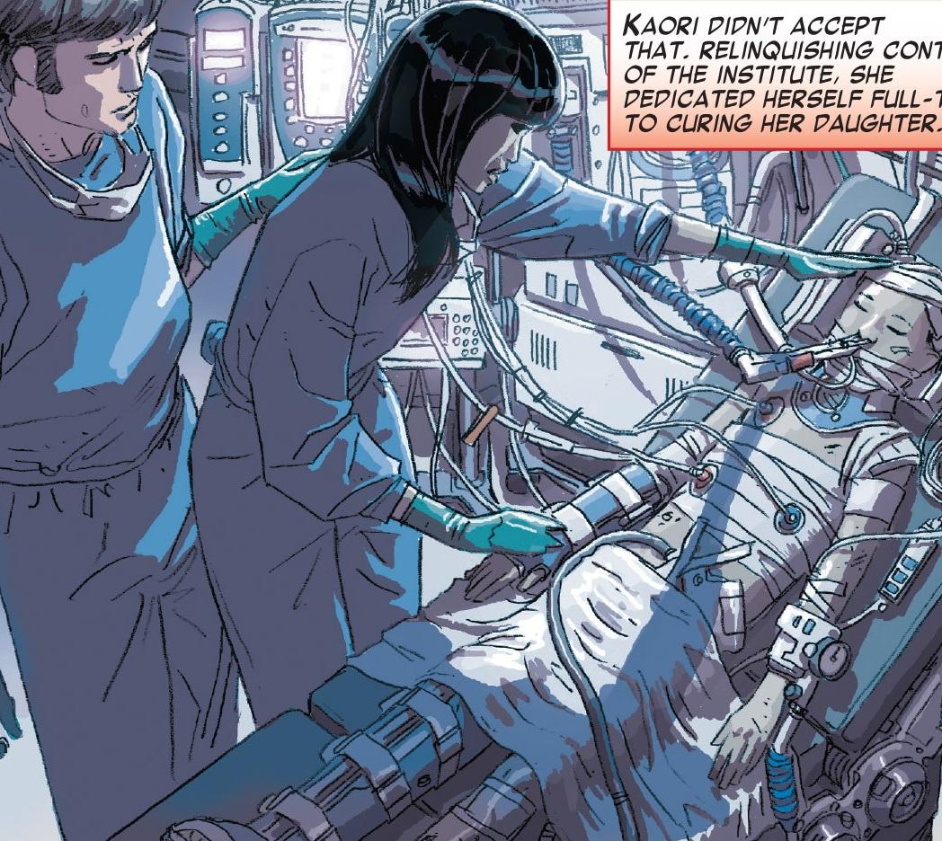 Kaori Ikegami (Earth-31411) from Edge of Spider-Verse Vol 1 3 0002