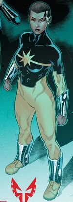 Katherine (Skrull) (Earth-TRN590) from Spider-Man 2099 Vol 3 14 001