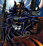 Logan Wayne (Earth-9602) from Legends of the Dark Claw Vol 1 1 (Cover)