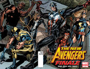 New Avengers Finale Vol 1 1 2nd Printing Battle Ready Variant
