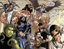 Olympus Group (Earth-616) from Incredible Hercules Vol 1 138 0001