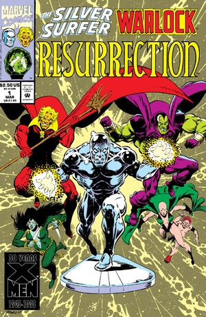 Silver Surfer Warlock Resurrection Vol 1 1