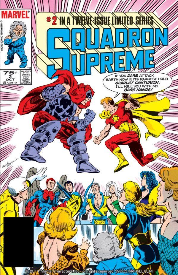 Squadron Supreme Vol 1 2 | Marvel Database | FANDOM powered
