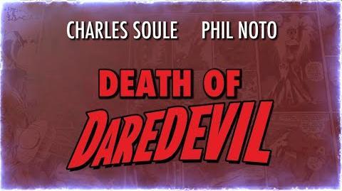 THE DEATH OF DAREDEVIL Teaser Trailer Marvel Comics