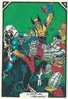 X-Men (Earth-616) from Arthur Adams Trading Card Set 0002