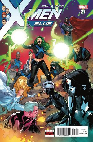 X-Men Blue Vol 1 27