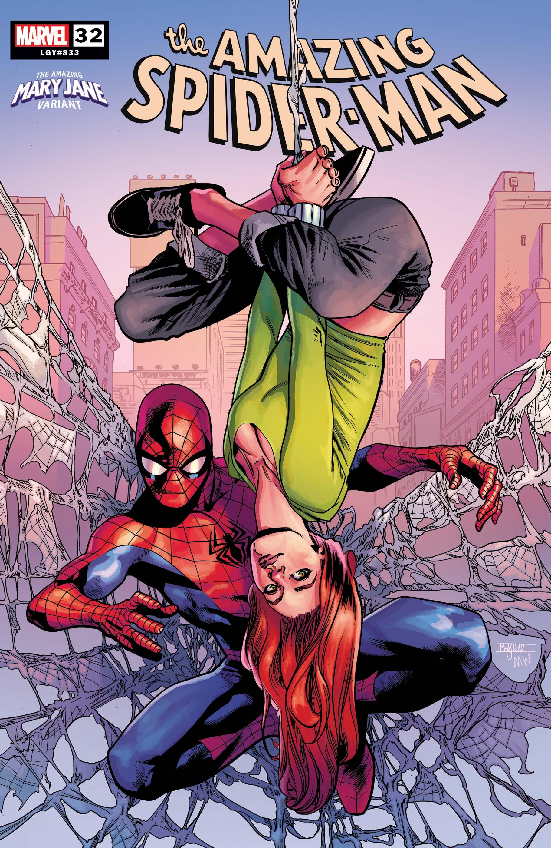 PATRICK GLEASON MAIN COVER MARVEL COMICS//2019 AMAZING SPIDER-MAN #33