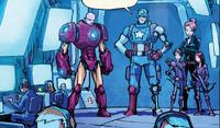 Avengers (Earth-15528) from Rocket Raccoon Vol 2 9 0001