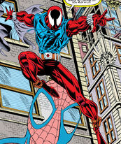 Peter Parker (Benjamin Reilly) (Earth-616) from Web of Spider-Man Vol 1 118 0001