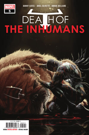 Death of Inhumans Vol 1 5