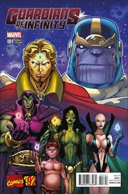 Guardians of Infinity Vol 1 1 Marvel '92 Variant