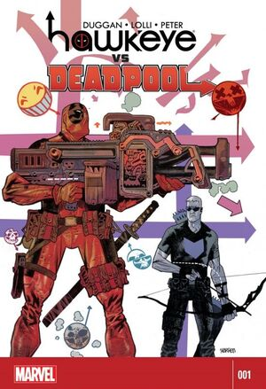 Hawkeye vs Deadpool Vol 1 1