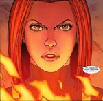 Hope Summers (Earth-616) and Phoenix Force (Earth-616) from X-Men Hope Vol 1 1 0001