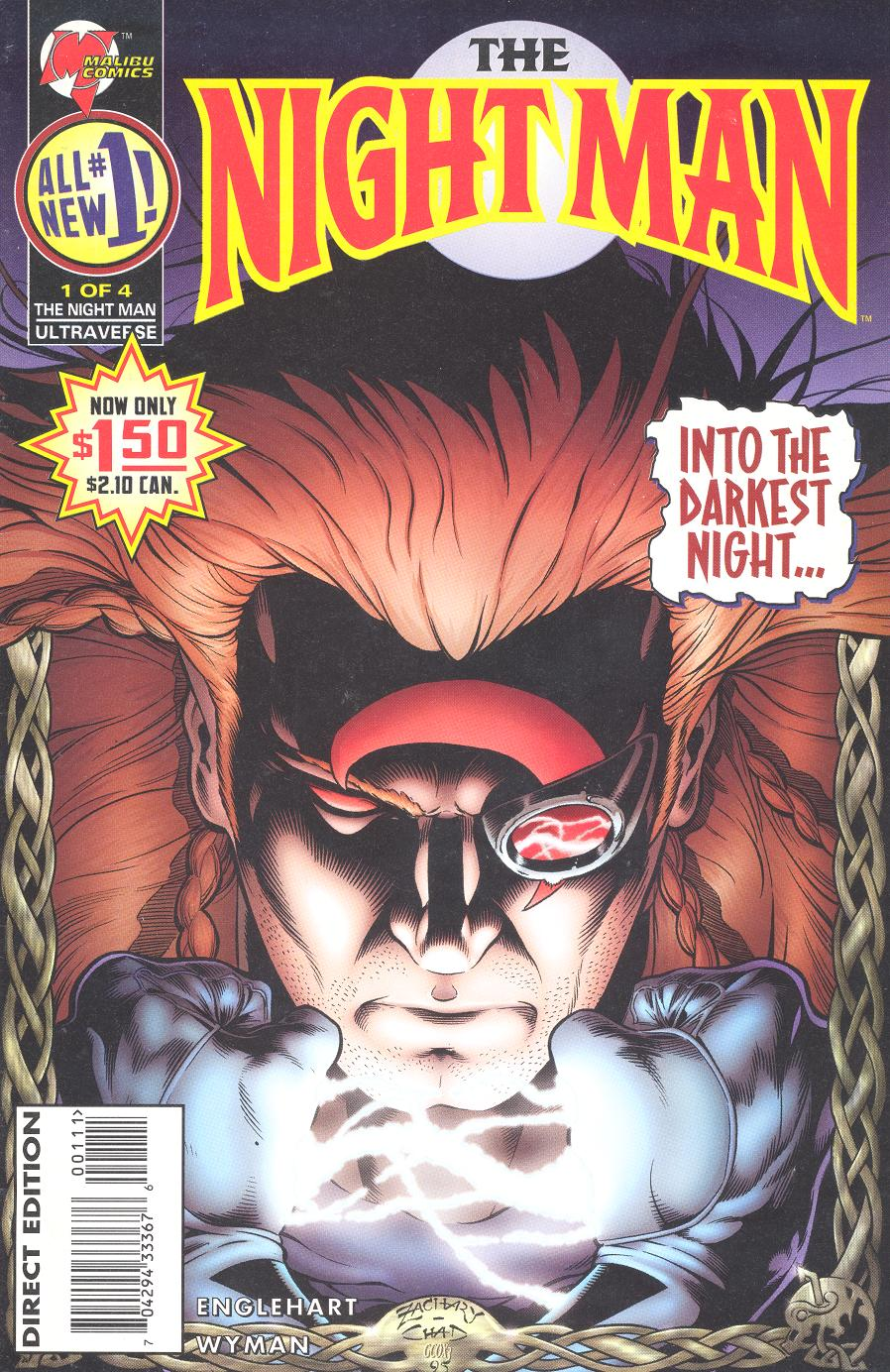 Night Man Vol 2 1
