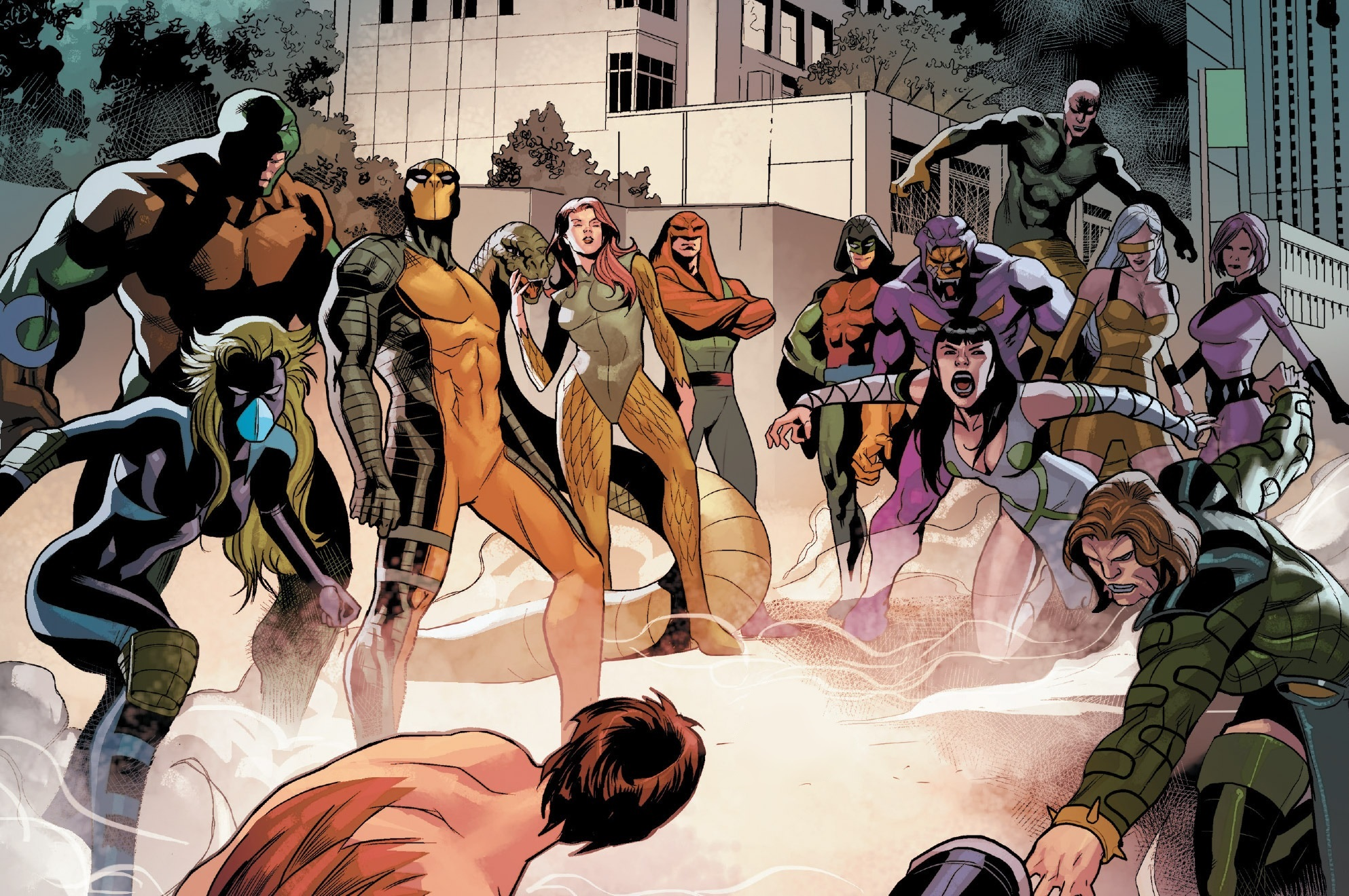 Image result for serpent society