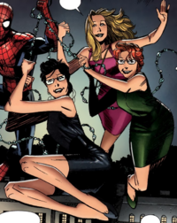 Spider-Girls (Earth-616) from Peter Parker Vol 1 4 001