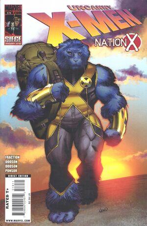Uncanny X-Men Vol 1 519