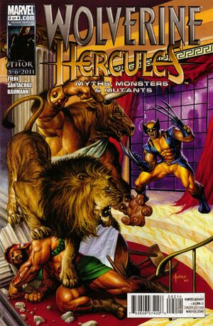 Wolverine Hercules Myths, Monsters & Mutants Vol 1 2