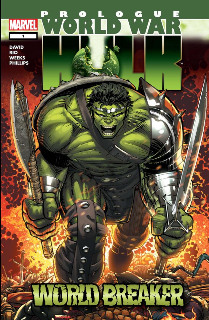World War Hulk Prologue World Breaker Vol 1 1