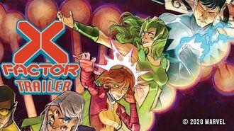 X-FACTOR 1 Trailer Marvel Comics