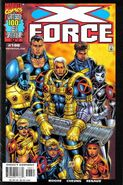 X-Force Vol 1 100 Liefeld Variant