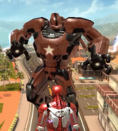 Anthony Stark (Earth-199999) and Crimson Dynamo (A.I.M. ally) (Earth-199999) from Iron Man 3 The Official Game 001