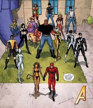 Avengers Academy (Earth-616) from Avengers Academy Vol 1 33 0001