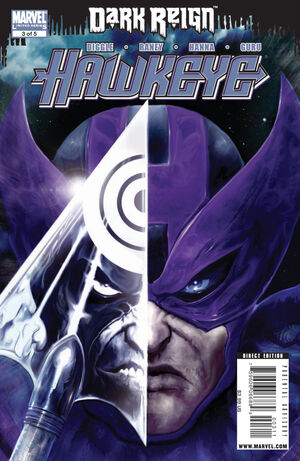 Dark Reign Hawkeye Vol 1 3