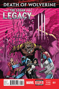 Death of Wolverine The Logan Legacy Vol 1 1