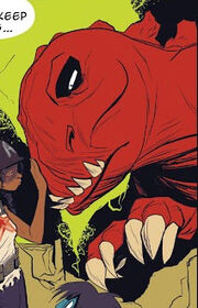 Devil Dinosaur (Earth-Unknown) from Spider-Gwen Vol 2 2 0001