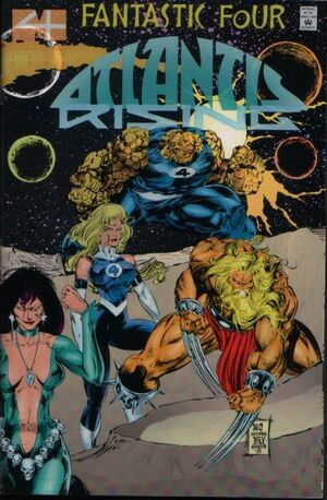 Fantastic Four Atlantis Rising Vol 1 2