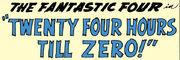 Fantastic Four Vol 1 7 Part 4 Title