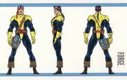 Forge (Earth-616) from Official Handbook of the Marvel Universe Master Edition Vol 1 2 0100