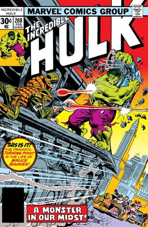 Incredible Hulk Vol 1 208