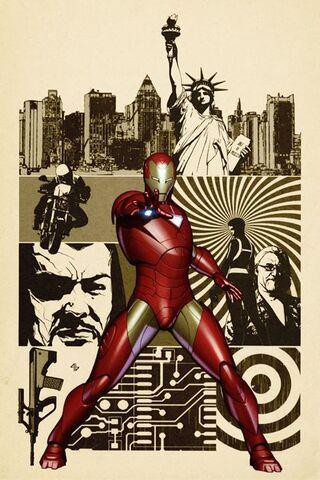 File:Iron Man Vol 4 15 Granov Variant Textless.jpg