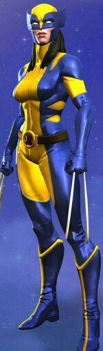 Laura Kinney (Earth-TRN517) from Marvel Contest of Champions 002