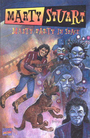 Marty Stuart Marty Party in Space Vol 1 1