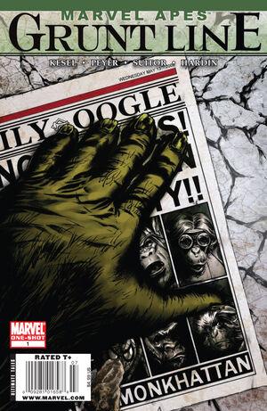 Marvel Apes Grunt Line Special Vol 1 1