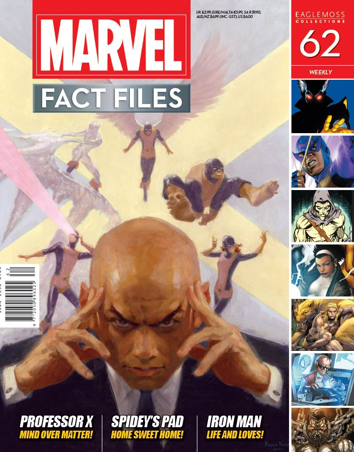Marvel Fact Files Vol 1 62
