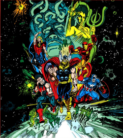 Operation Galactic Storm from Blockbusters of the Marvel Universe Vol 1 1