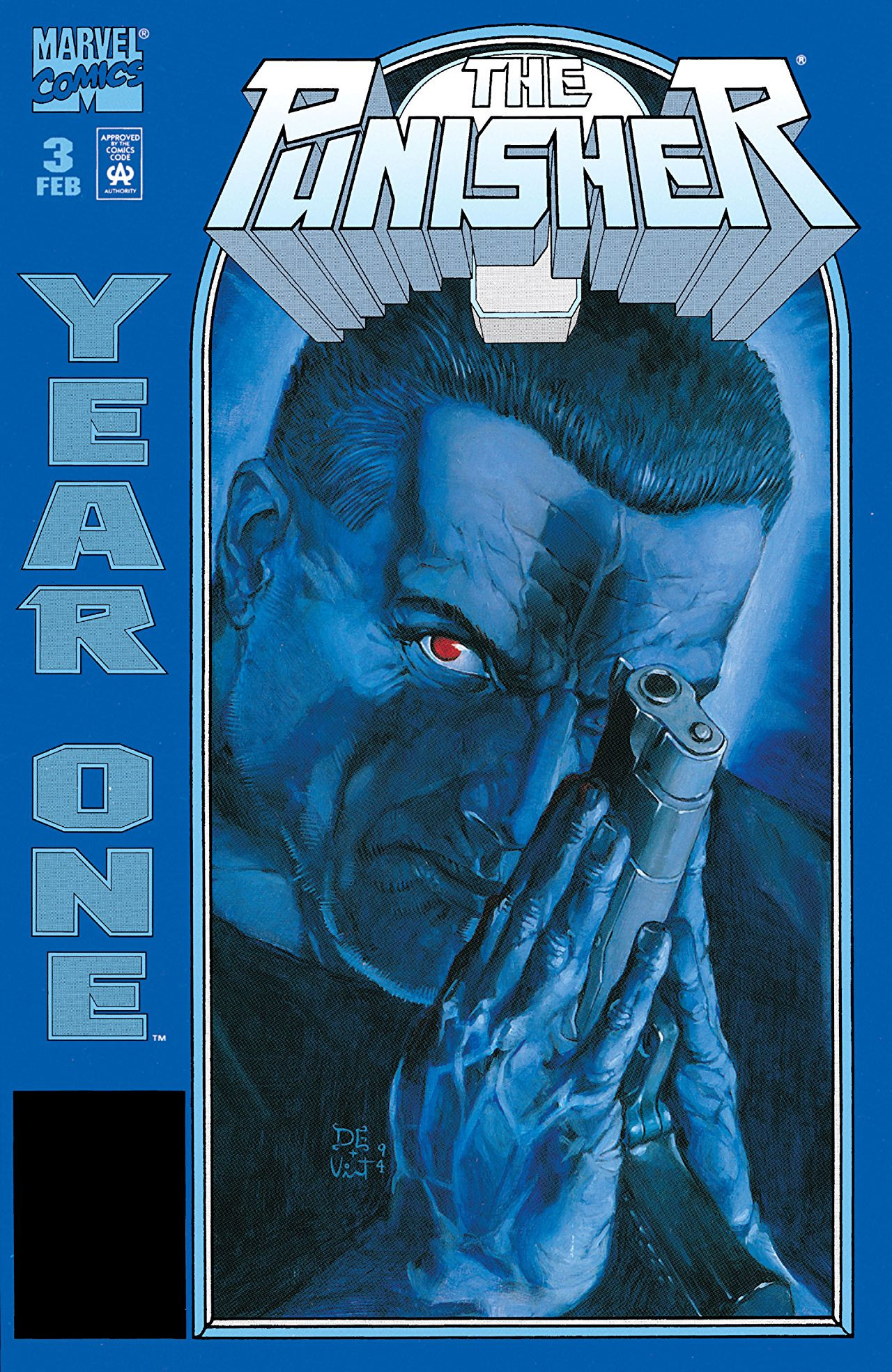 Punisher Year One Vol 1 3